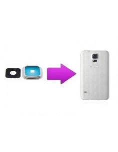 Remplacement lentille arrière Samsung Galaxy S5