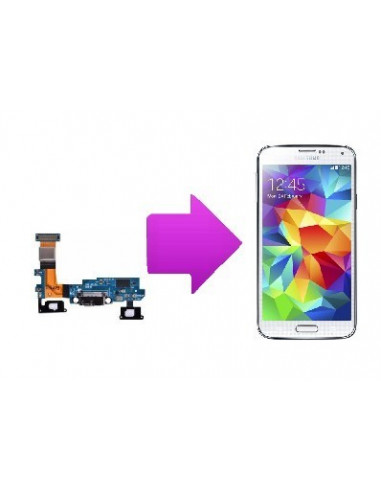 -chconnetdechargesamsunggalaxys5-Changement connecteur de charge Samsung Galaxy S5