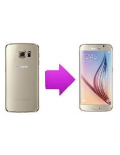 Changement vitre arrière Samsung Galaxy S6