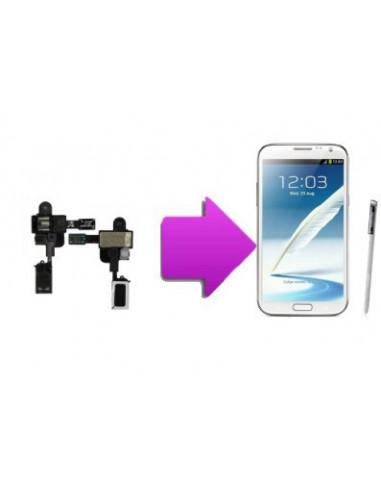-changjackecoutsamn2-Changement nappe jack/écouteur interne SAMSUNG Galaxy Note 2