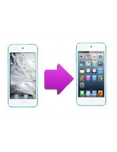 Changement vitre tactile + LCD iPod Touch 5