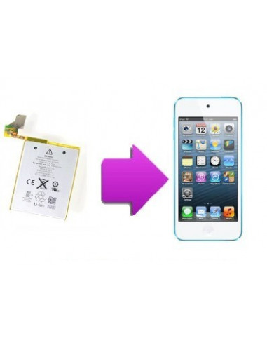 -changbatterieoriginaleit5-Changement batterie originale Ipod touch V5