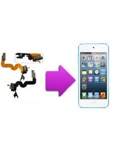 Changement nappe (jack/charge et home) écouteur Ipod touch 5