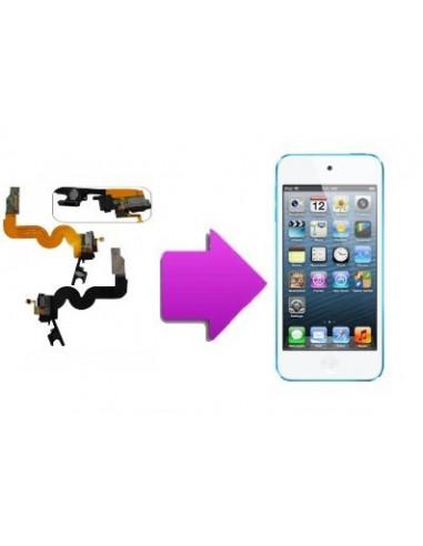 -changnappejackhomeecouip5-Changement nappe (jack/charge et home) écouteur Ipod touch 5