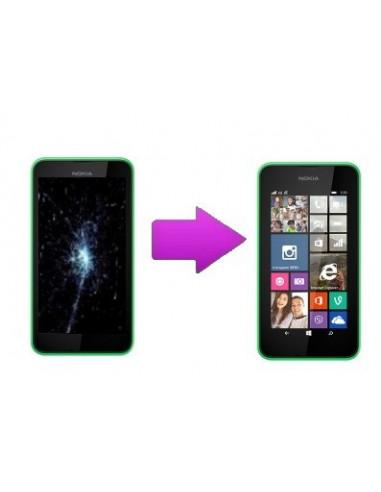 -changbloclcdtactilenl530-Changement bloc écran LCD + Tactile Nokia Lumia 530