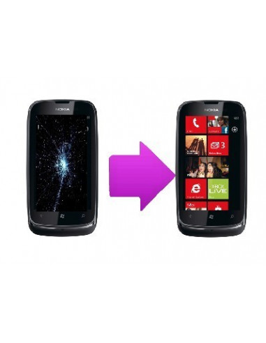 -changlcdnl610-Changement écran lcd Nokia Lumia 610