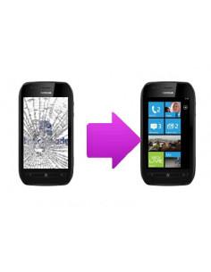 Changement tactile Nokia Lumia 710