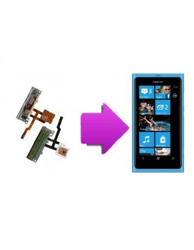 -changnappemicronl800-Changement nappe micro Nokia Lumia 800