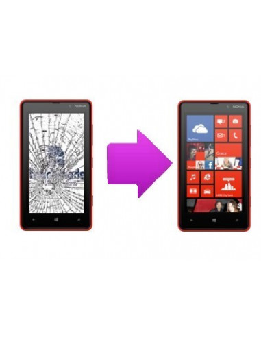 -changtactilenl820-Changement tactile Nokia Lumia 820