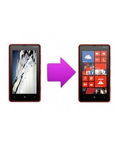 -changlcdnl820-Changement écran lcd Nokia Lumia 820