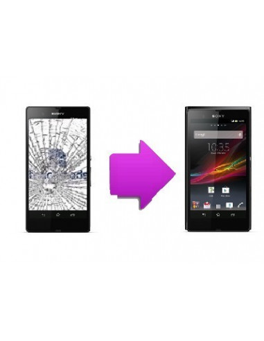 -changlcdtactilesonyxz-Changement LCD + vitre tactile Sony Xperia Z