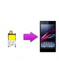 Changement batterie Sony Xperia Z1
