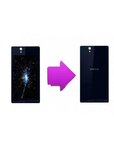 -changvitrearsonyxz1-Changement vitre arrière Sony Xperia z1