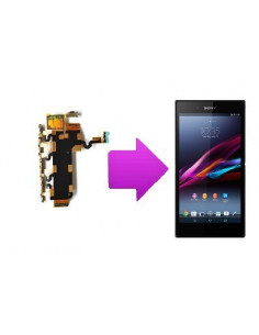 Changement nappe volume Sony Xperia Z1