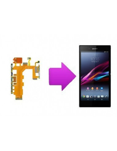 -changnappevolpowersonyxz2-Changement nappe volume / power Sony Xperia Z2