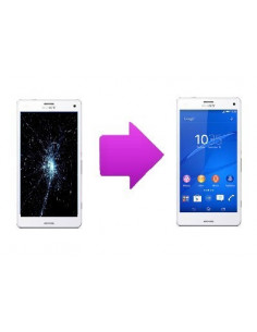 Changement LCD + vitre tactile Sony Xperia Z3 Compact