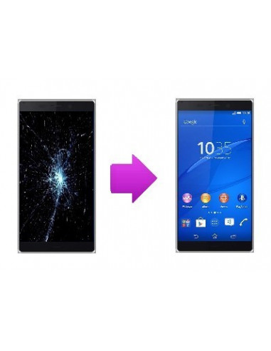 -changlcdtactilesonyxt3-Changement LCD + vitre tactile Sony Xperia T3