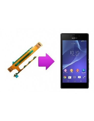 -changnappevolpowersonyxt3-Changement nappe volume / power Sony Xperia T3