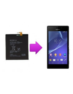Changement batterie Sony Xperia T3