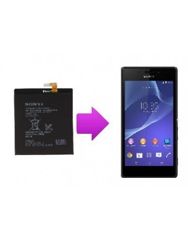 -changbatteriesonyxt3-Changement batterie Sony Xperia T3