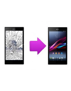 Changement LCD + vitre tactile Sony Xperia Z Ultra