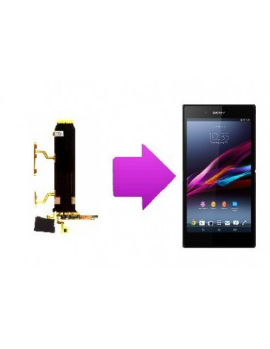 -changnappevolsonyxzultra-Changement nappe volume Sony Xperia Z ultra