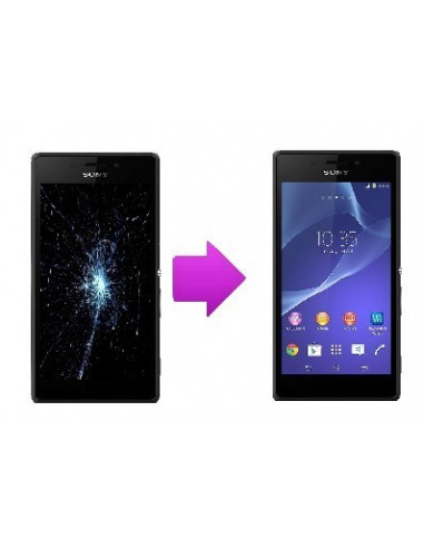 -changlcdtactilesonyxm2-Changement LCD + vitre tactile Sony Xperia M2