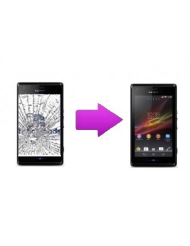 -changlcdtactilesonyxu-Changement LCD + vitre tactile Sony Xperia S