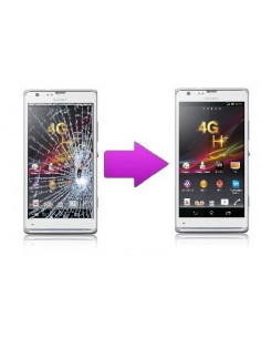 Remplacement vitre tactile Sony Xperia SP