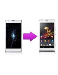 Changement écran LCD Sony Xperia SP