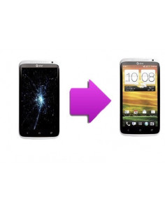 Changement bloc complet tactile + LCD pour HTC One X