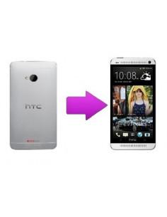 Remplacement coque arrière HTC One M7