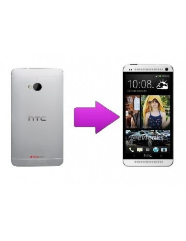 -changcoquearhtconem7-Remplacement coque arrière HTC One M7