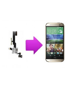 Changement lecteur micro SD card + nappe volume HTC one M8