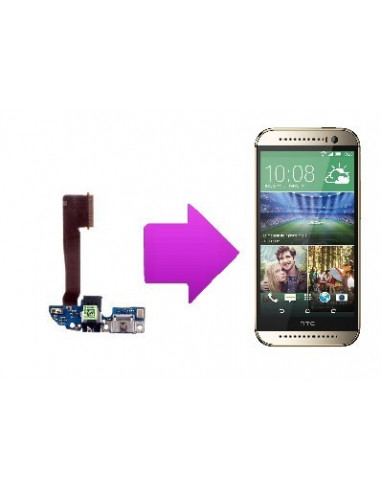 -changchargemicrohtconem8-Changement connecteur de charge + micro HTC one M8