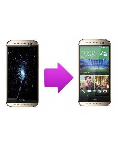 -changtactilelcdhtconem8-Remplacement bloc écran tactile + LCD pour HTC one mini 2
