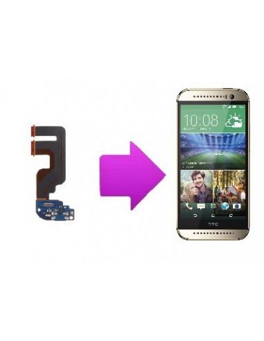 -changchargemicrohtconem8-Changement connecteur de charge + micro HTC one mini 2