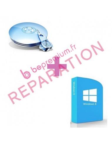 Réinstallation Windows + Récupération de données