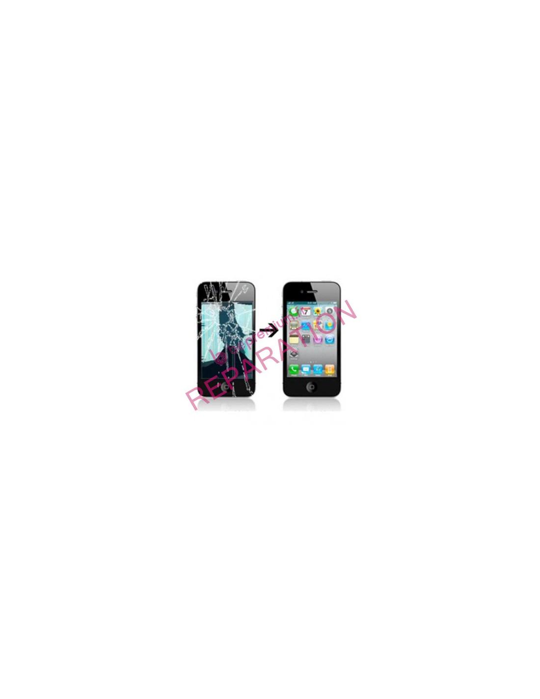 Changement rapide cran cass iphone 4 prix discount for Photo ecran iphone 4