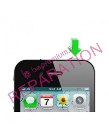 Changement bouton power iphone 4