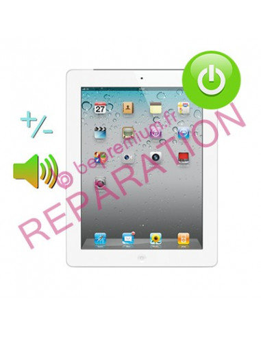 Changement bouton power et volume iPad 2