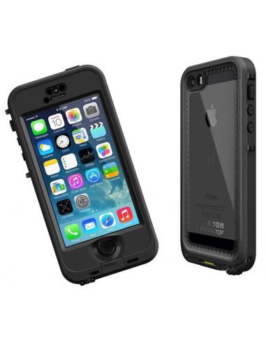 Lifeproof Fré - Coque Waterproof pour iPhone 5 / 5s, Noir