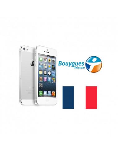 Désimlockage iPhone Bouygues Telecom