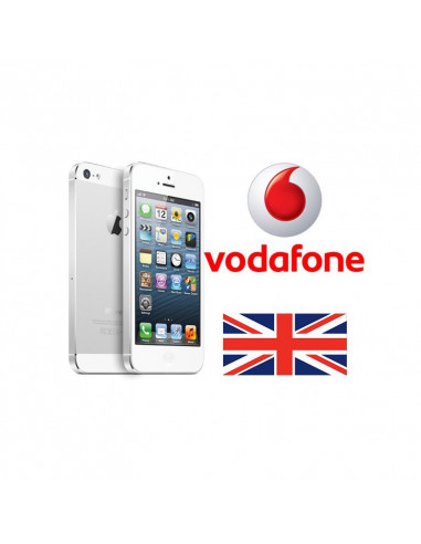 Désimlockage iPhone Vodafone UK