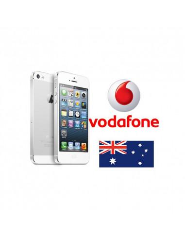 Désimlockage iPhone Vodafone Australie