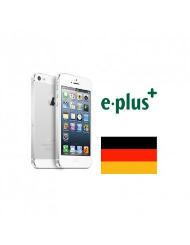 Désimlockage iPhone E-Plus Allemagne
