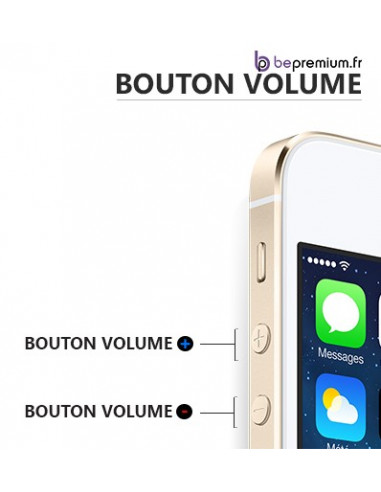 Changement bouton volume iPhone 5S