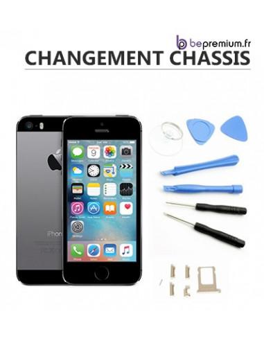 Changement coque arrière iPhone 5S