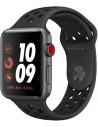 Apple Watch Serie 3 - Nike+ Gris sidéral 42mm Cellulaire Reconditionné