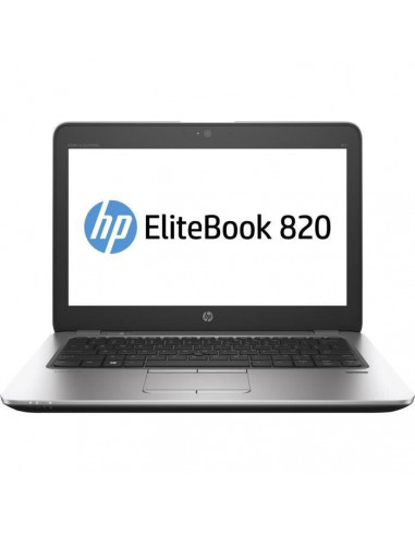 "HP EliteBook 820 G3 12,5"" - i5 2,4GHz SSD 180Go RAM 8Go Reconditionné"